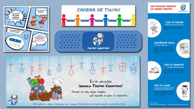Diseño de cartelería para web, redes sociales, campañas de marketing, etc. de Tiritas Creativas
