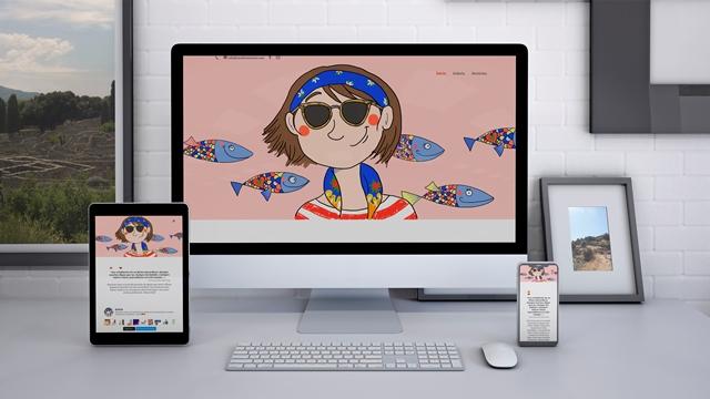 Diseño y creación de la web de Nem Bom Vento