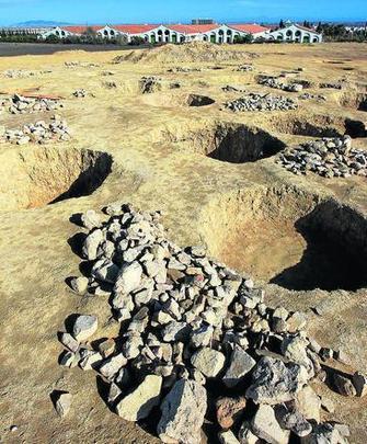 Excavación de silos prehistóricos