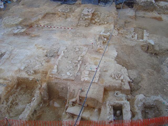 Excavación cementerio tardorromano