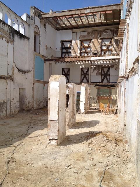 Excavación en contextos de obras de restauración