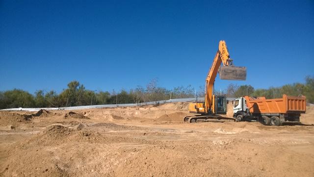 Control arqueológico de movimientos de tierra en zona de dunas