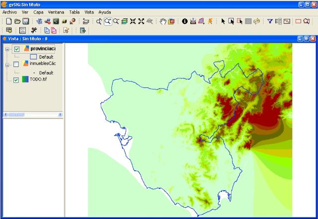 Trabajo con Sistemas de Información Geográfica