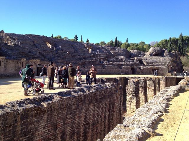 Excursión familiar a Itálica